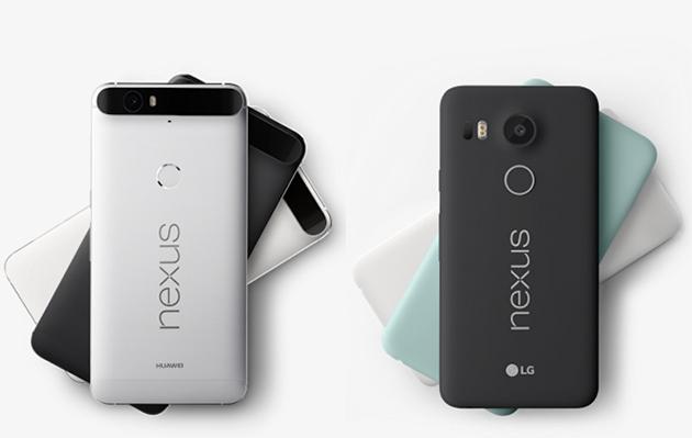 Nexus 5X 全球降价,Nexus 6P 香港减价推新色