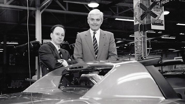 Tom Kowaleski and Bob Lutz