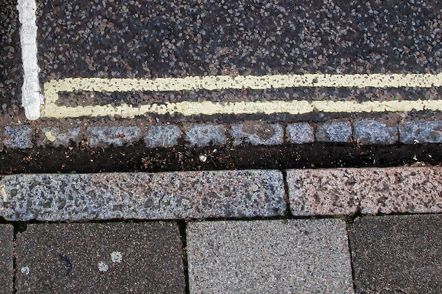 A general view of double yellow lines as steps to help boost high street trading which could include a relaxation of double yellow line restrictions are being considered by the Government.