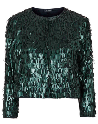feather sequin jacket, Rachel Zoe's holiday outfit ideas