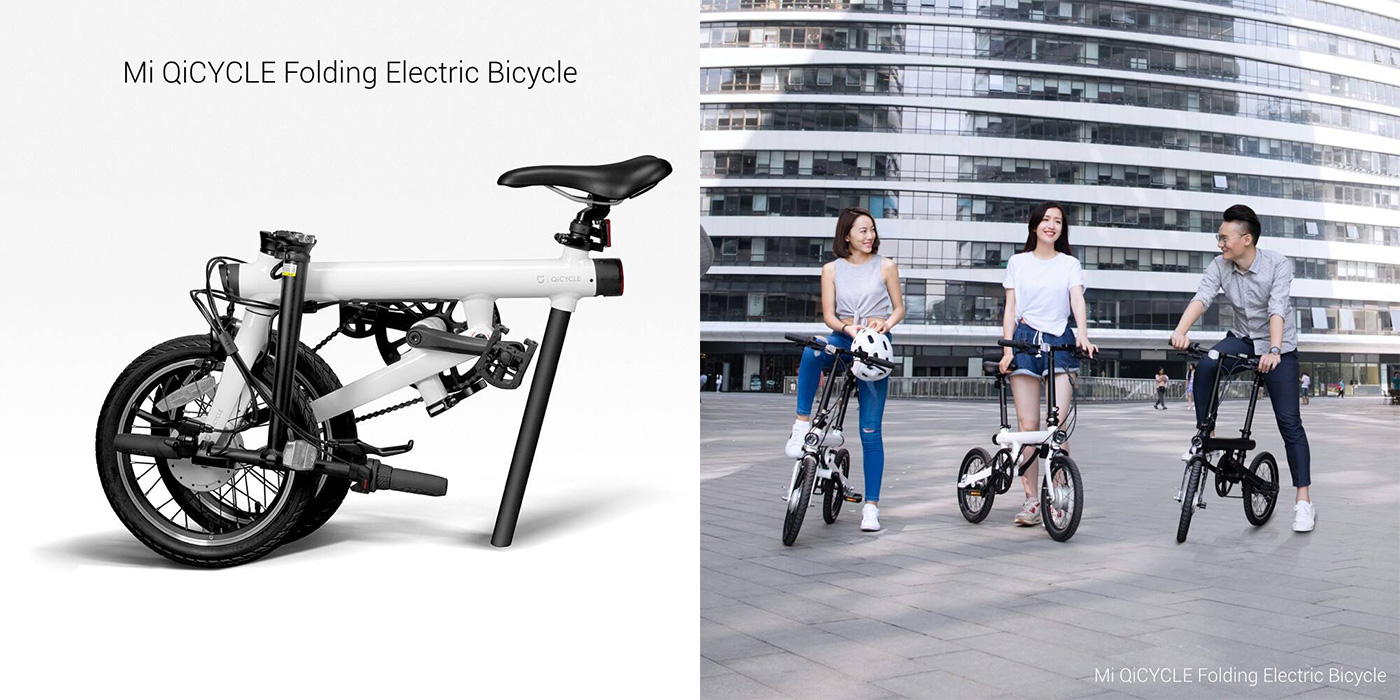 xiaomi 39 s foldable electric bicycle costs just 460. Black Bedroom Furniture Sets. Home Design Ideas