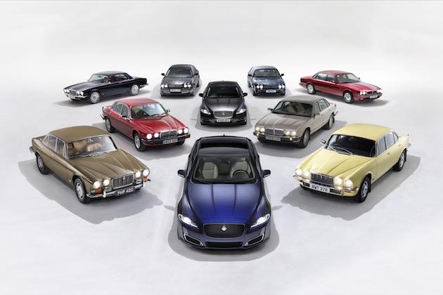 ジャガー、「XJ」シリーズの50周年を記念する特別モデル「XJ50」を発表!