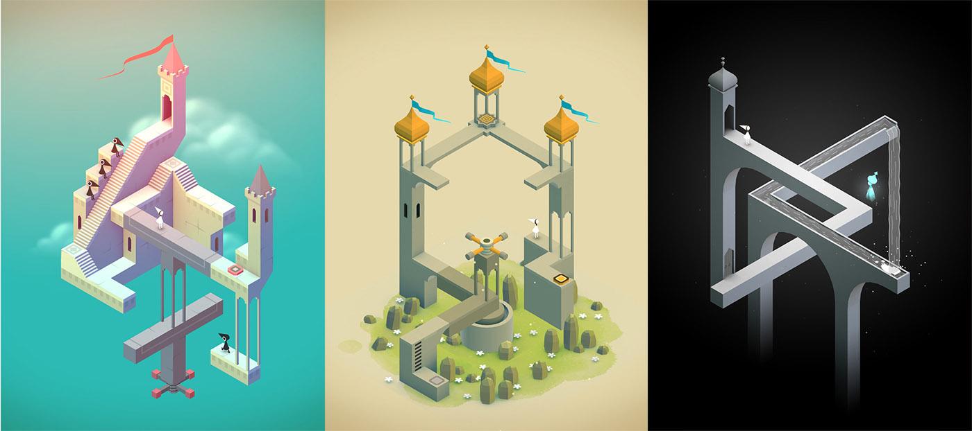 iOS 版《纪念碑谷》免费,要下载就快噜!