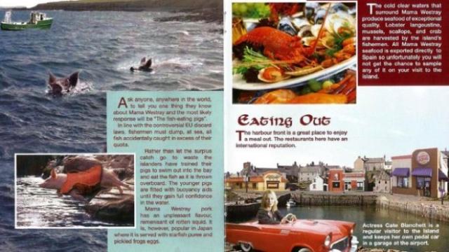 'Mama Westray': Tourist brochure promotes spoof Scottish island