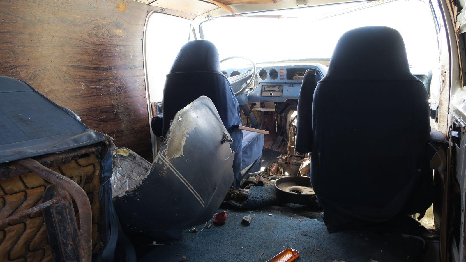 Junkyard Gem 1978 Dodge Tradesman Custom Van Autoblog