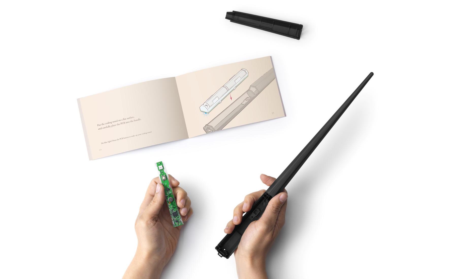Kano's next coding kit is a Harry Potter wand