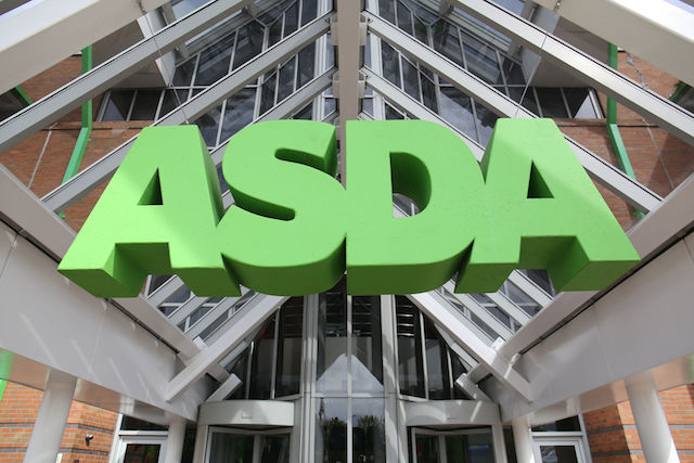 File photo dated 1/5/2015 of an Asda sign, as the supermarket is to invest at least £20 million into a partnership with food redistribution charities with the aim of helping more than one million people out of food poverty over the next three years.