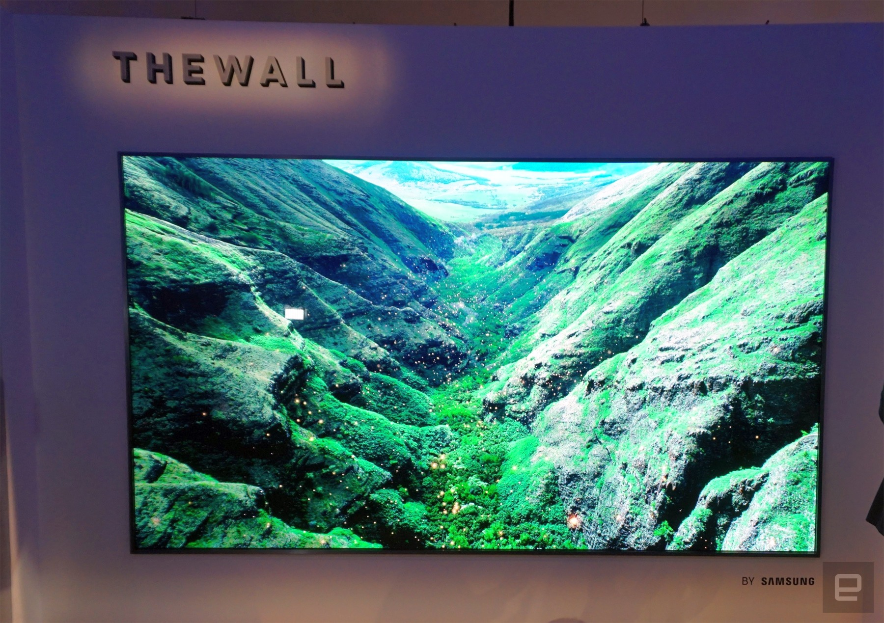 Samsung is ready to build a 146-inch TV wall in your house