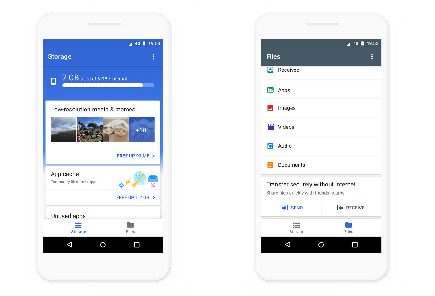Google releases its Android file storage manager to all