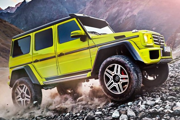 メルセデス・ベンツの新型SUV「G500 4x4 スクエアード」がもうすぐ登場?