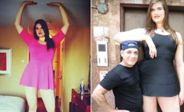 6ft 9in woman finds love after being bullied for years