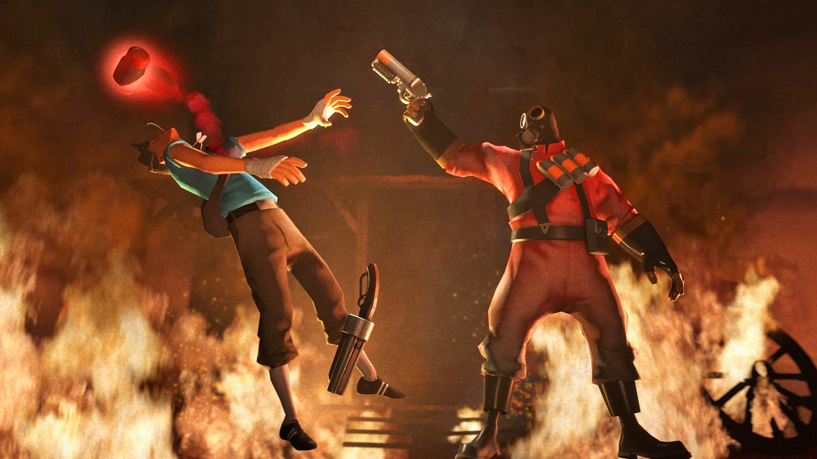 Team Fortress 2 Adding Competitive Multiplayer Mode