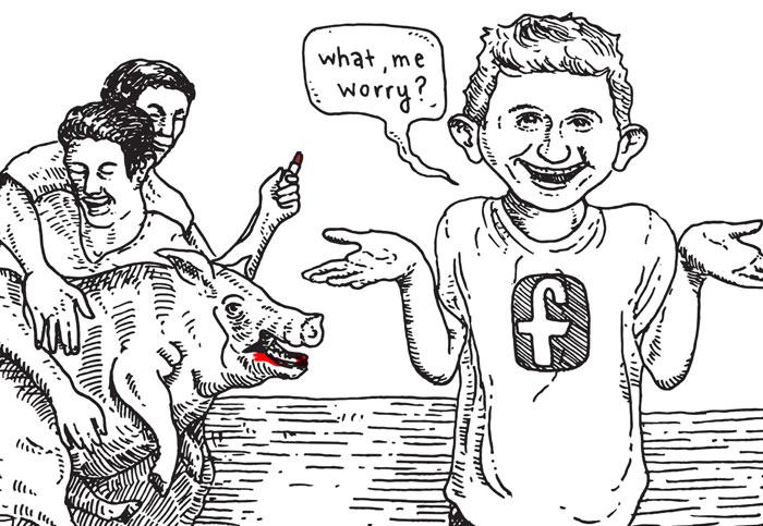 Facebook's fake war on fake news
