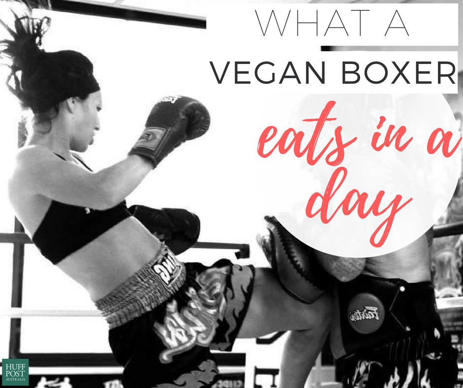 This Is What A (Vegan) Boxer Eats In A