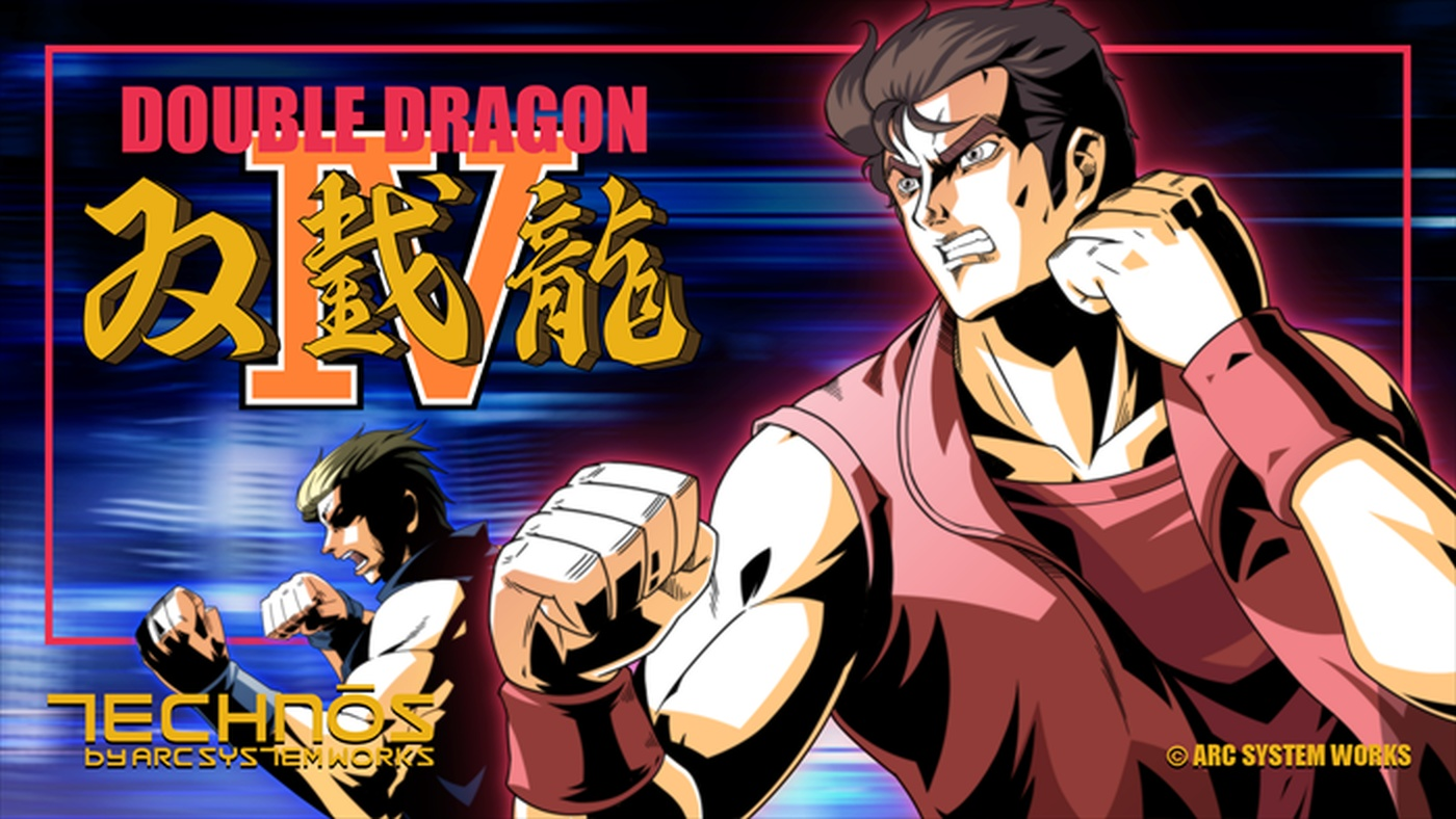 Double Dragon IV is Coming to PS4 and PC Next Month