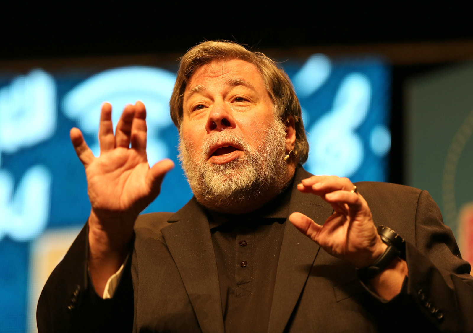 """Steve Wozniak, the co-founder of a US technology giant Apple which used its Irish subsidiaries to lower its tax bill, speaking at the Millennium forum in Londonderry has said big corporations should be treated the same as the """"little guy""""."""