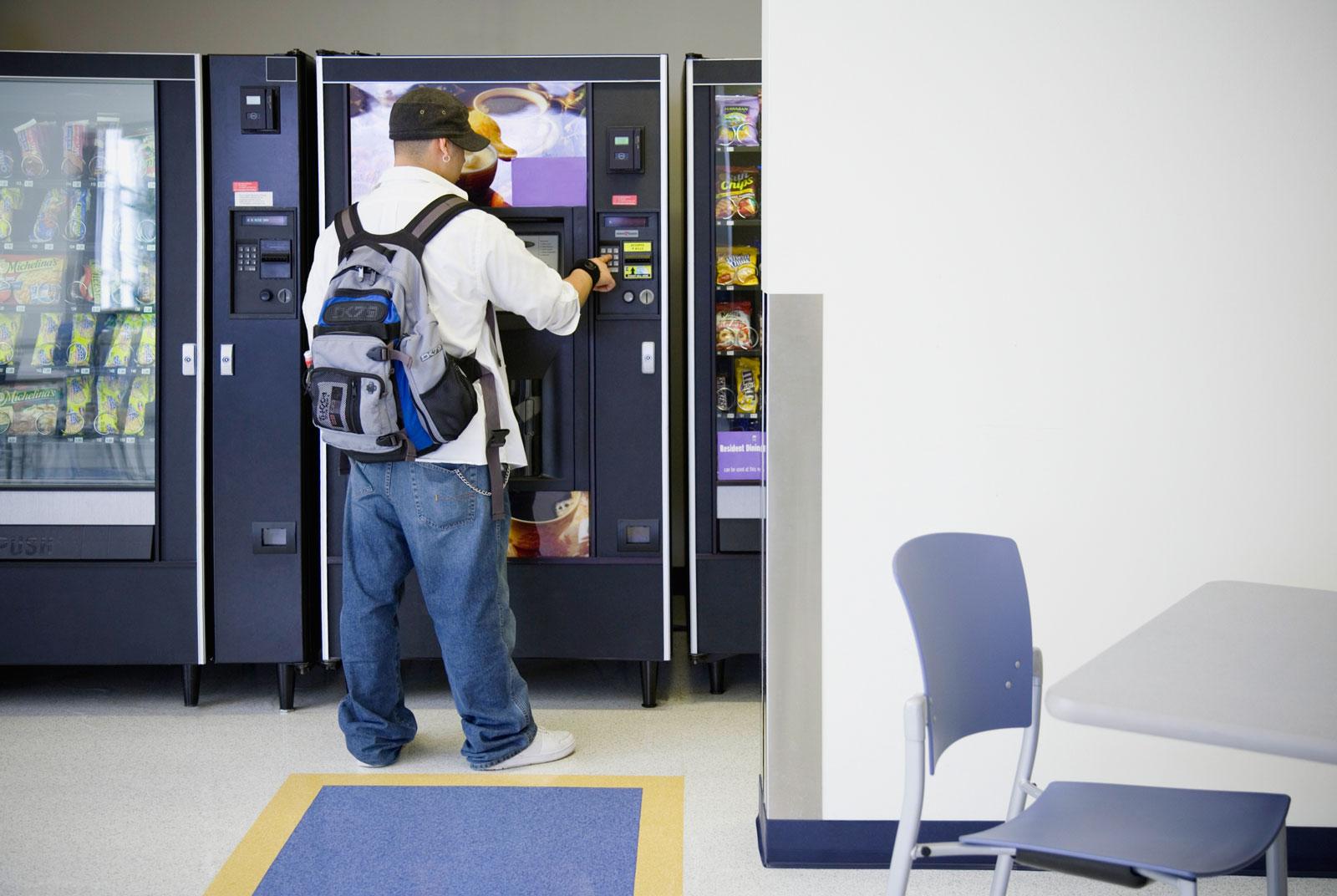 When vending machines attack (a university)