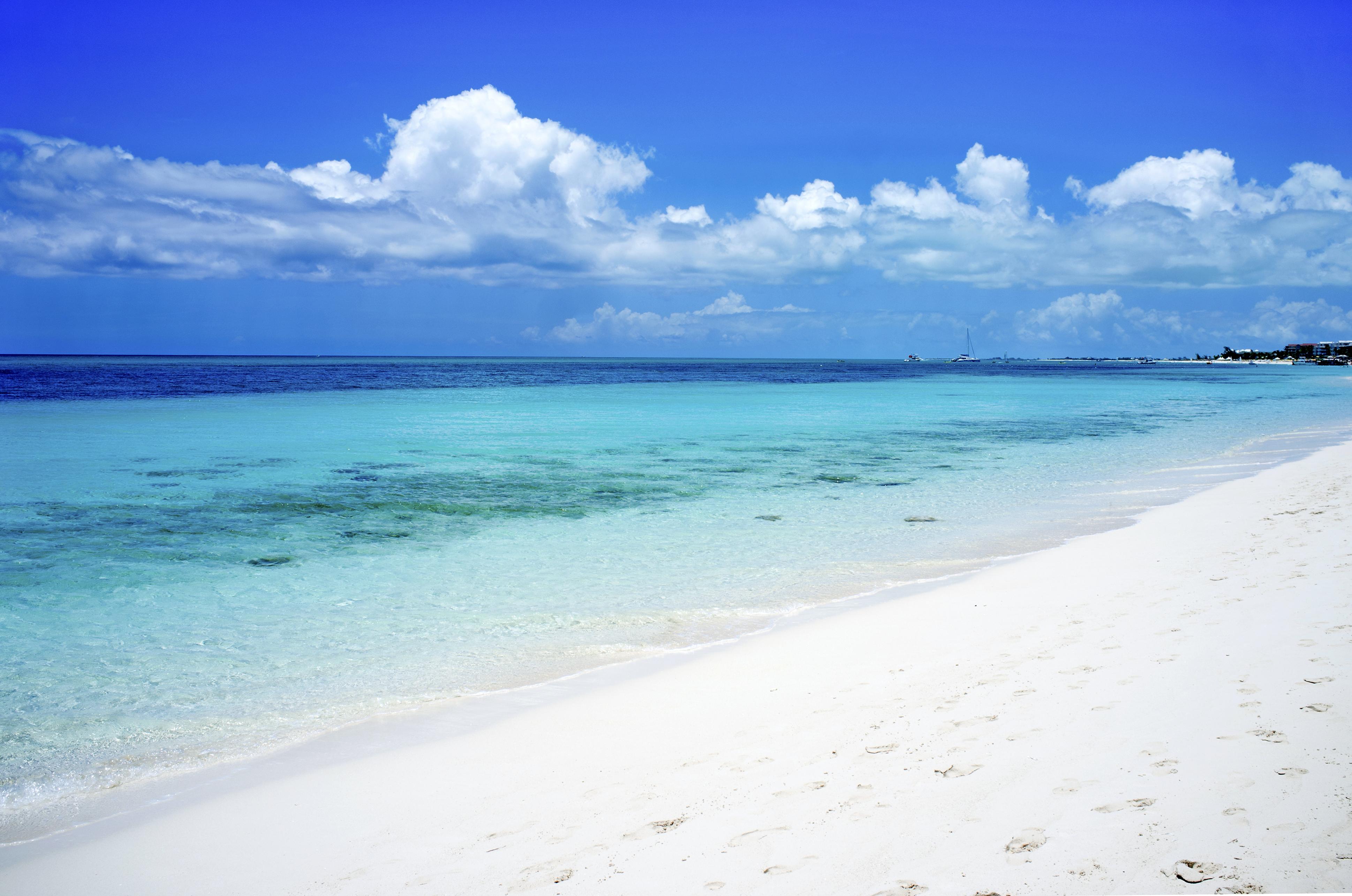Grace Bay Beach.