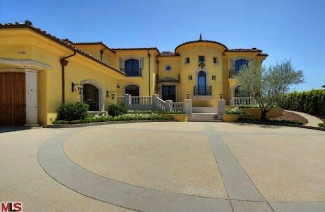 kimye bel air mansion exterior