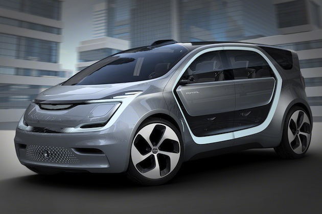 クライスラー、ミレニアム世代向けに開発したコンセプトカー「ポータル」を発表