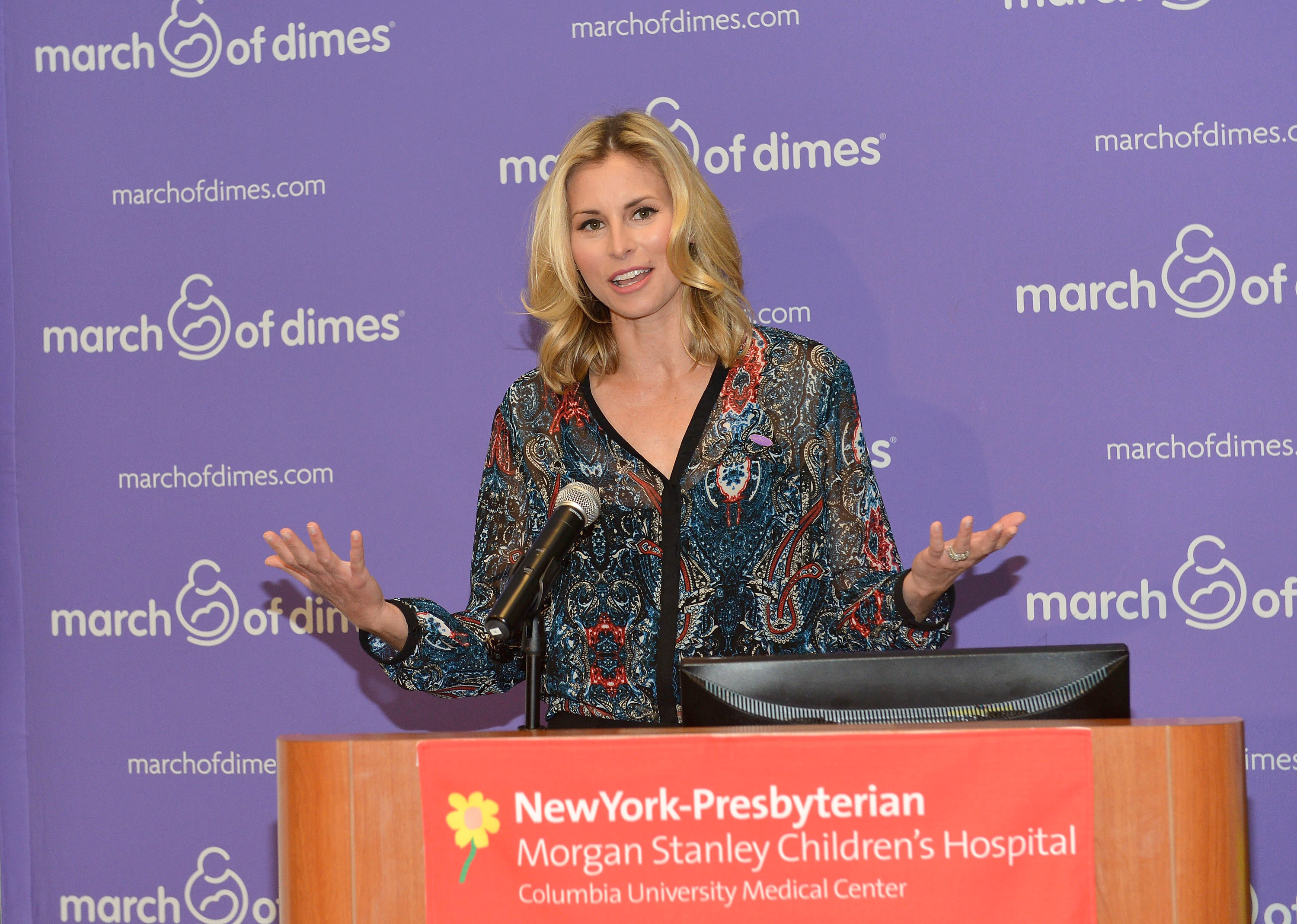 """""""March Of Babies"""" Awareness Event With Niki Taylor"""