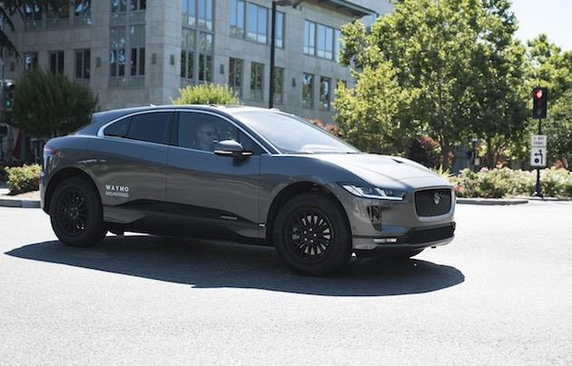 Waymo、新たな自動運転サービス用車両としてジャガー「I-Pace」のテストを開始