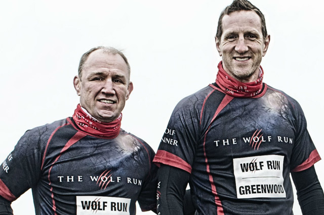 Neil Back and Will Greenwood