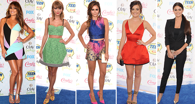 Best dressed at the 2014 Teen Choice Awards