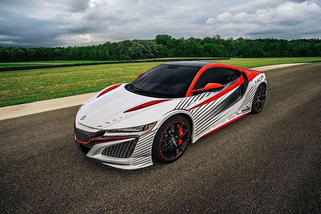 ホンダの新型「NSX」、今年のパイクスピークで公式ペースカーに採用