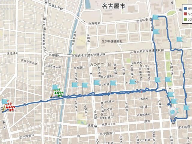 電波調査隊が行く、名古屋市内WiMAX2+エリア調査