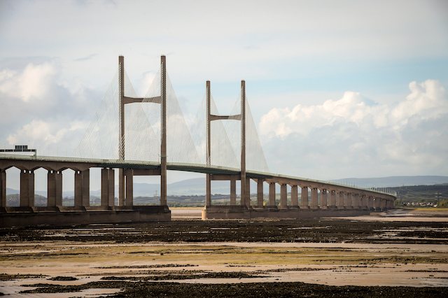The Severn Bridge looking from Aust towards Chepstow. PRESS ASSOCIATION Photo. Picture date: Friday September, 30, 2016. Photo credit should read: Ben Birchall/PA Wire