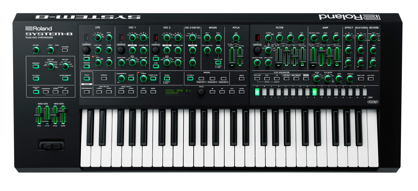 Roland S System 8 Synthesizer Does Almost Everything