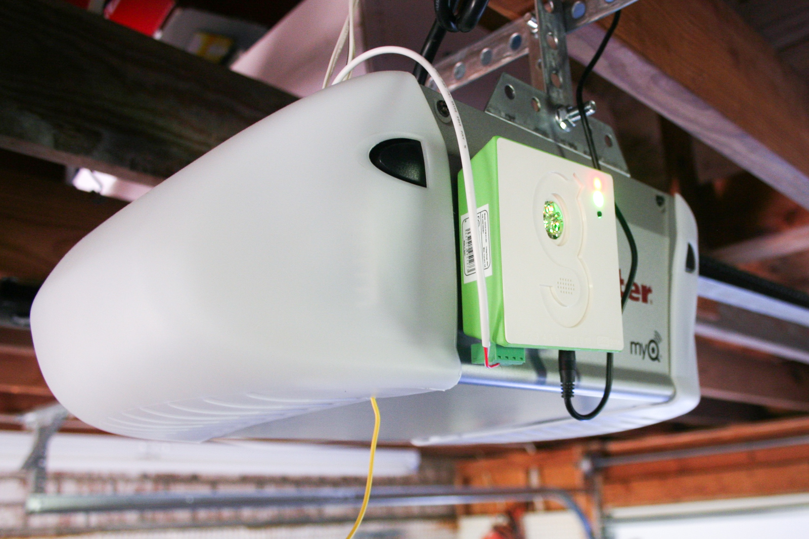 Ordinaire The Gogogate2 Is A Small, Lightweight Device That Attaches To The Side Of  Your Garage Door Opener. Photo: Jennifer Pattison Tuohy