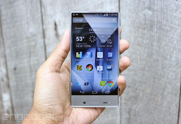 Full Display Smartphone: Sharp AQUOS Crystal