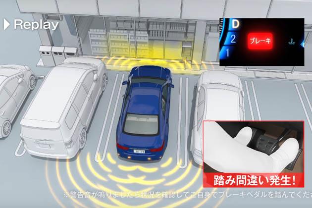 マイカーが無くても見て欲しい!! JAFが「誤発信抑制制御機能」など先進安全装備をわかりやすく紹介したCG動画を公開!!