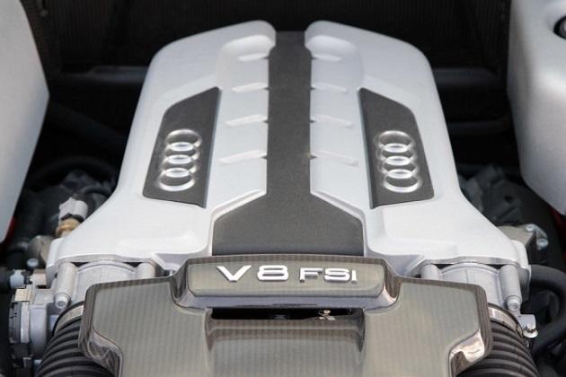 【レポート】アウディ「R8」、エントリー・モデルにはやっぱりターボ付きエンジンを採用?