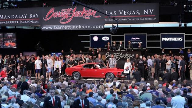 ラスベガスで開催された「バレットジャクソン・オークション」の落札金額トップ5