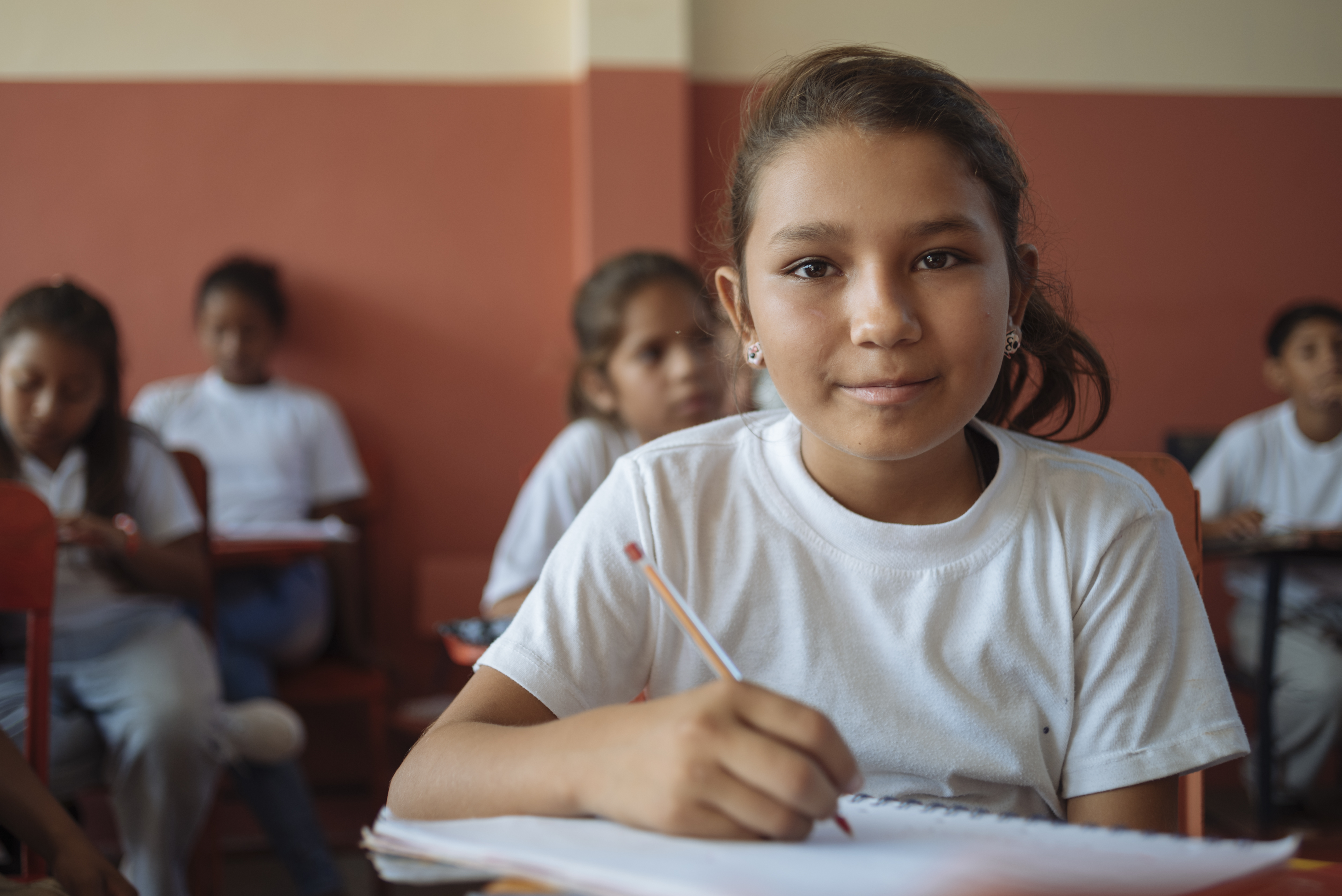 """""""In spite of the earthquake, I follow my dreams as they have not changed, I want to be a teacher..."""