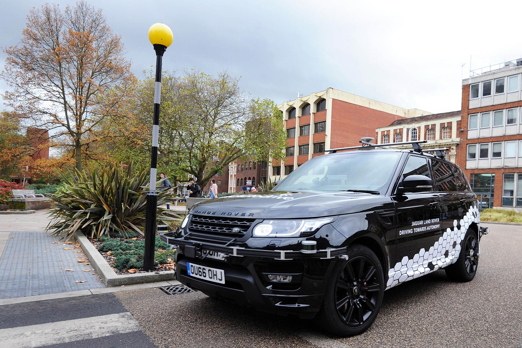 Driverless cars take to United Kingdom roads