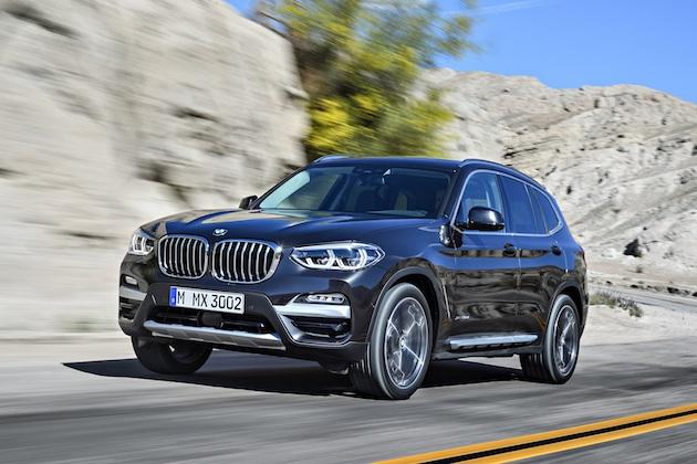 【ビデオ&フォト】BMW、3代目となる新型「X3」を発表! 高性能な「M Performance」も新たに登場