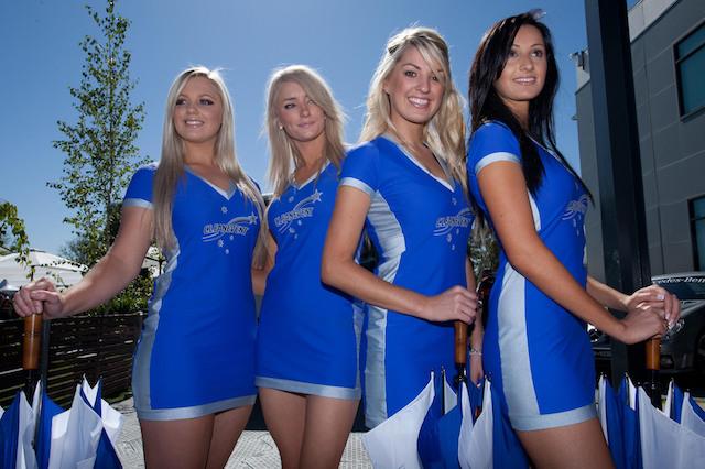 Grid Girls prior to the Australian Grand Prix at Albert Park, Melbourne, Australia.