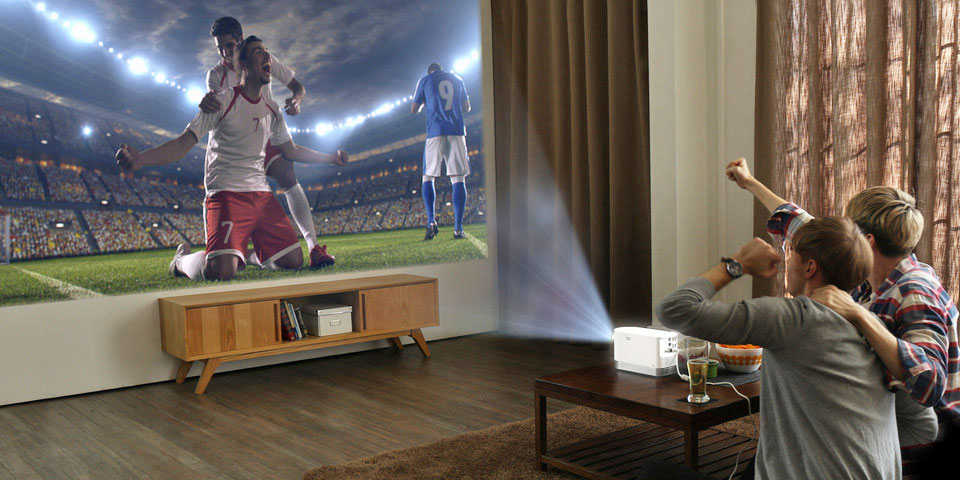 Lg S Full Hd Laser Projector Is Bright Enough For Daytime Use