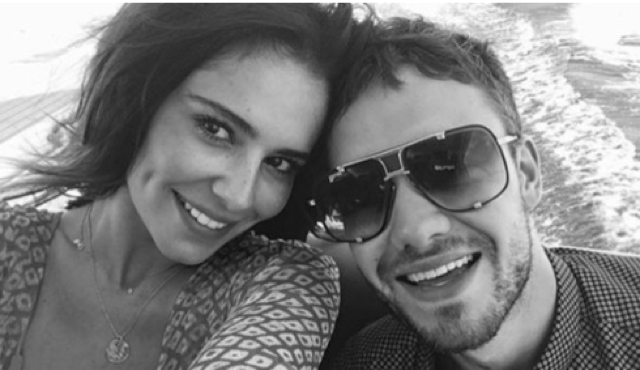 Cheryl and Liam share first holiday pics since baby Bear