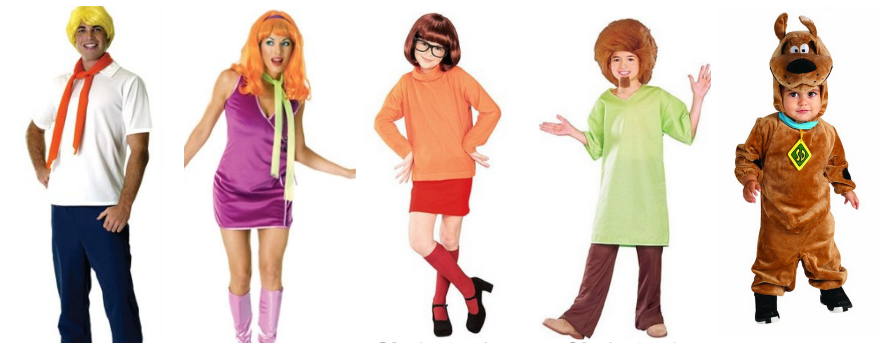 Scooby Doo Family Halloween Costume