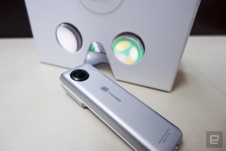 Insta360 Nano 動手玩,iPhone 獨有的平價 360 度相機選擇
