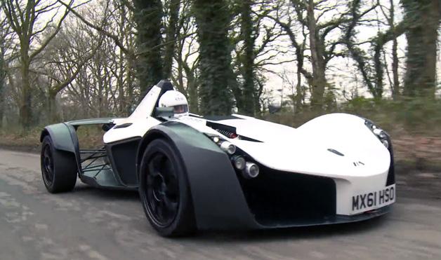 【ビデオ】公道のレーシングマシン、BAC「Mono」に試乗