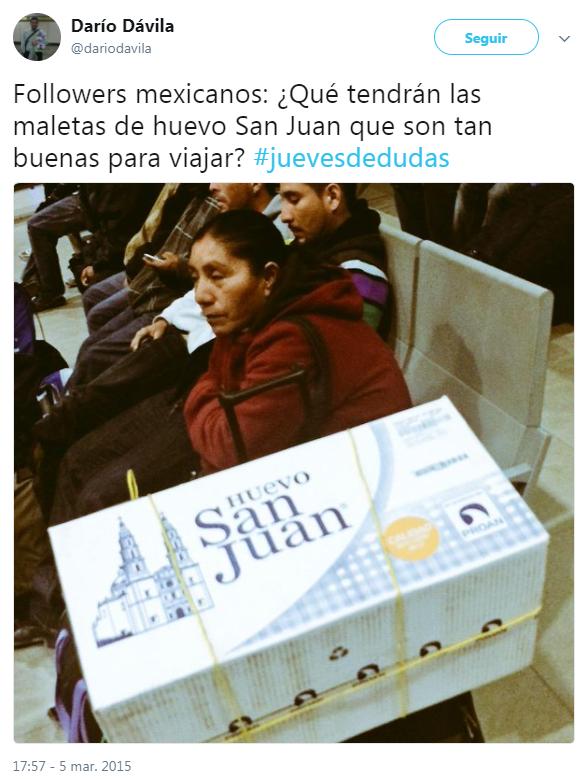 La caja de Huevo San Juan que honra a los mexicanos... (y también cumple