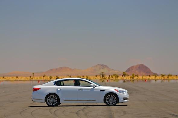 Kia in the desert