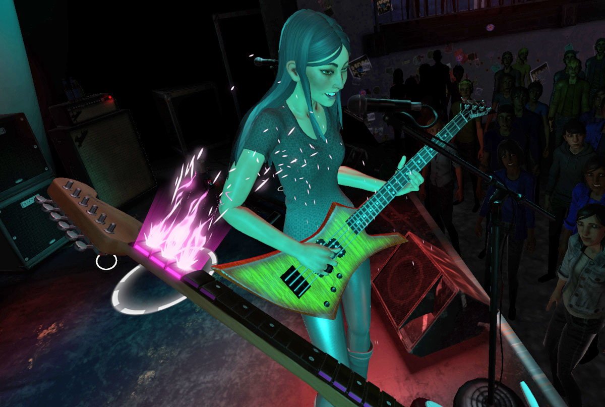 Rock Band Vr Is The Dorkiest Game Ever And I Love It