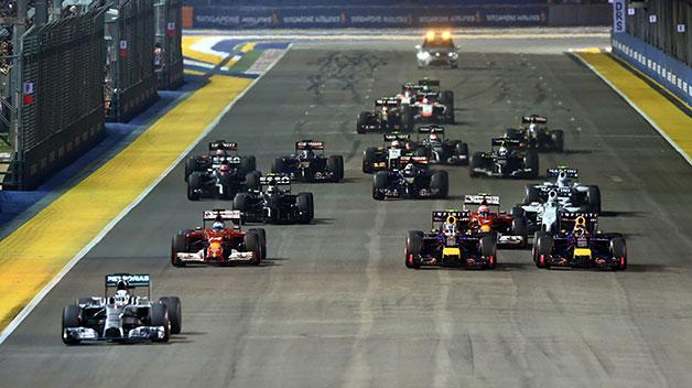 2014 Singapore Grand Prix.